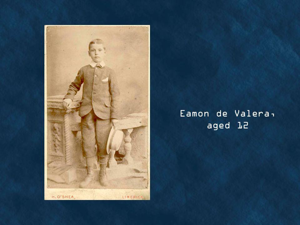 Eamon de Valera, aged 12