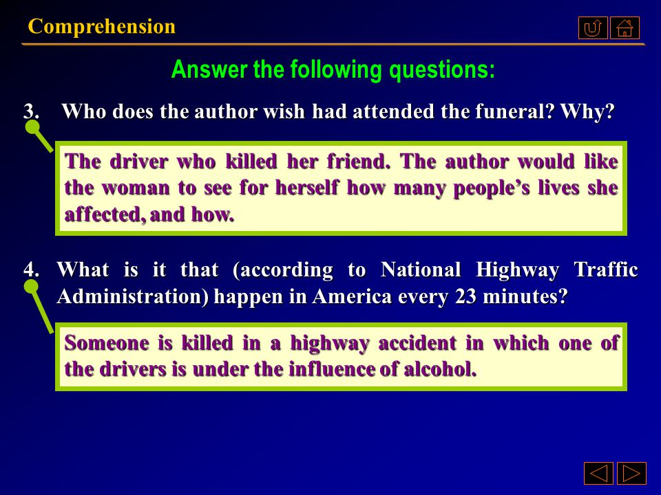 1.Whose funeral did the author go to. How did he die.