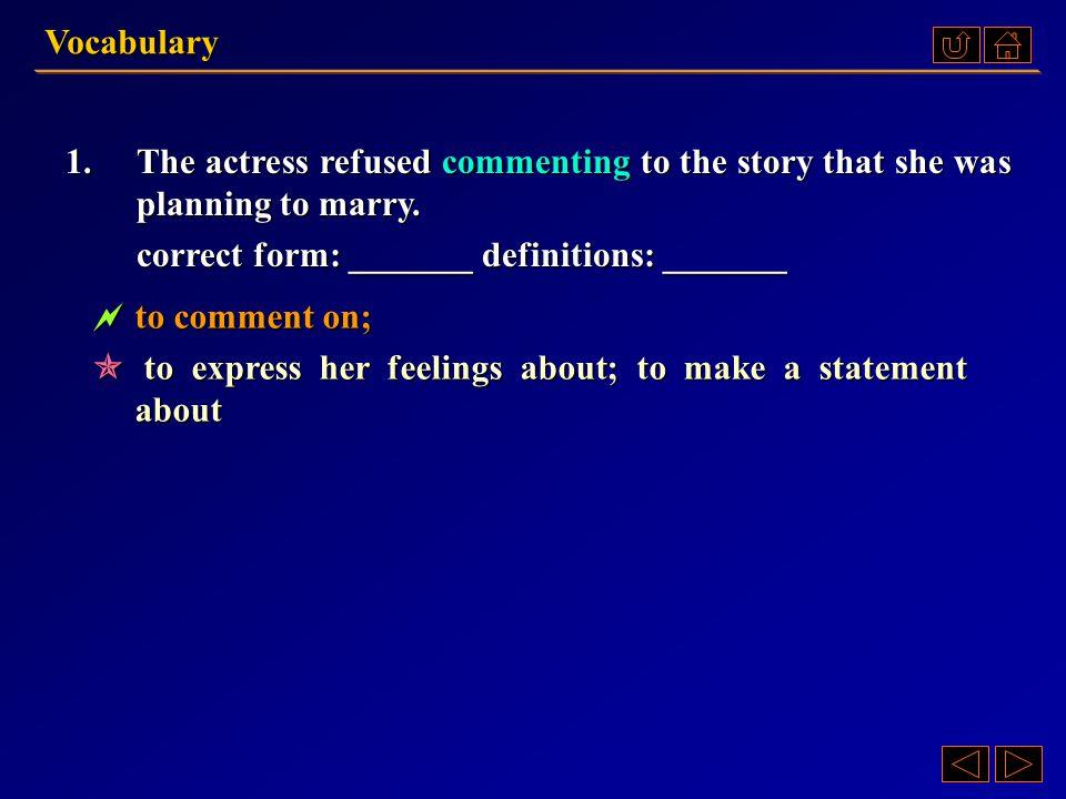 IV.Rescue these sentences.