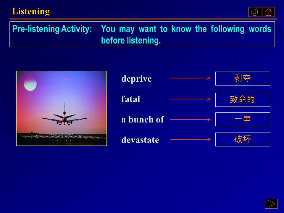 Listening III Part 2.2, p. 72