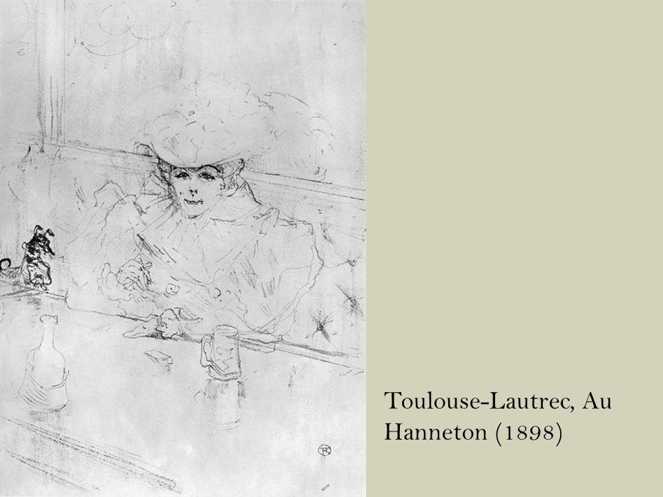Toulouse-Lautrec, Au Hanneton (1898)