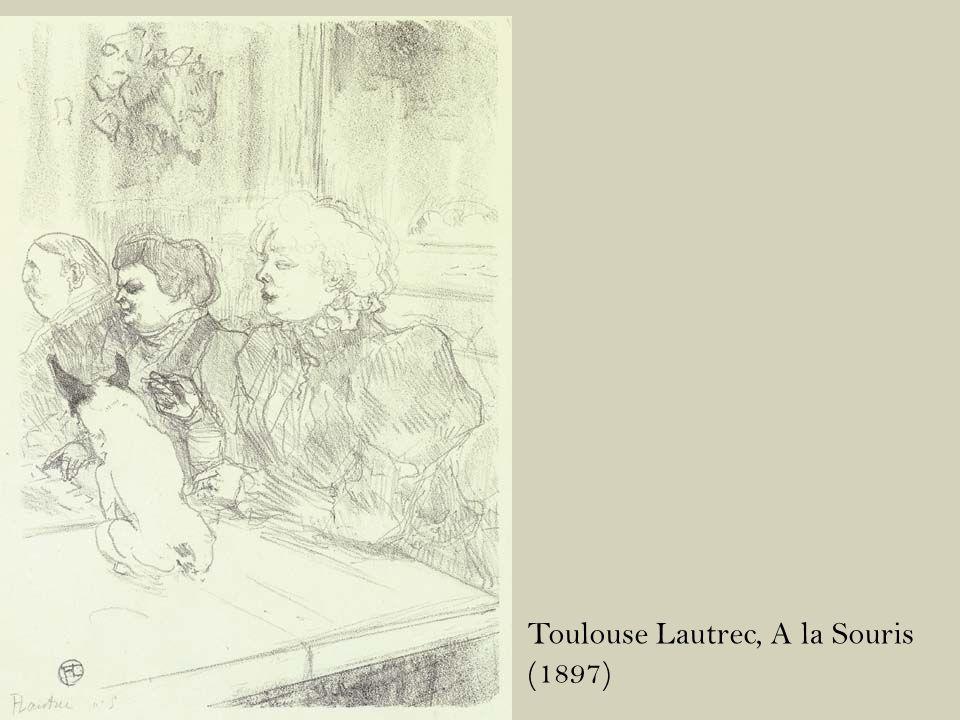 Toulouse Lautrec, A la Souris (1897)