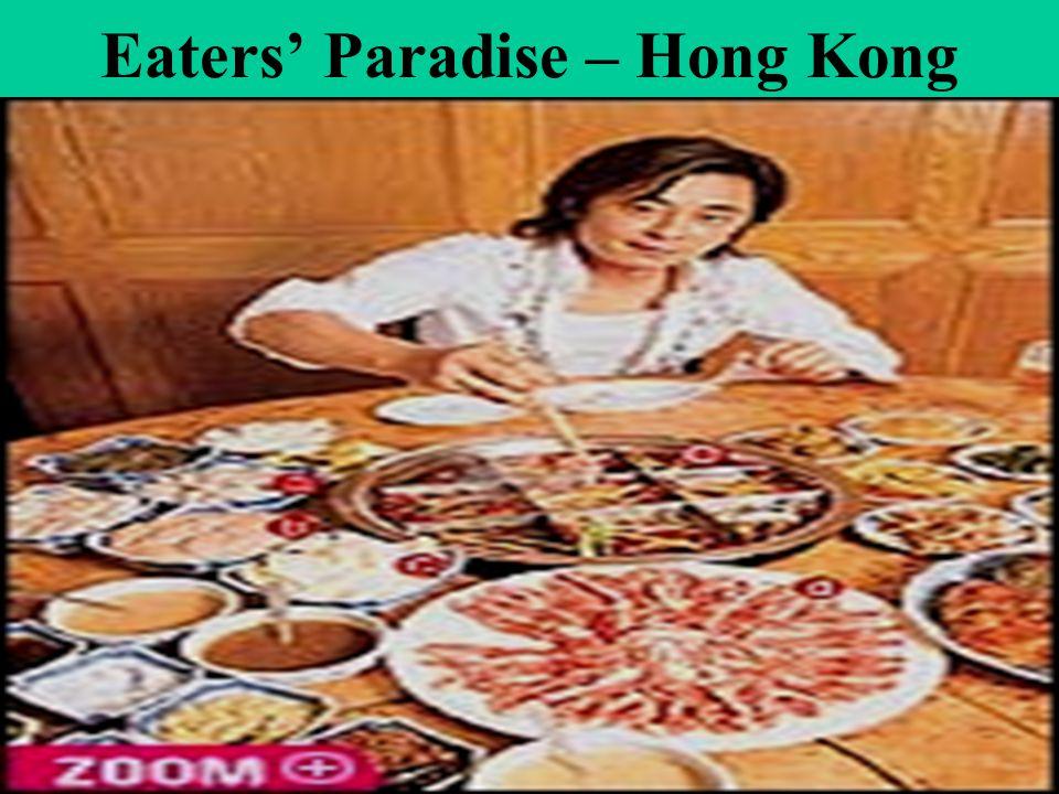 Eaters Paradise – Hong Kong