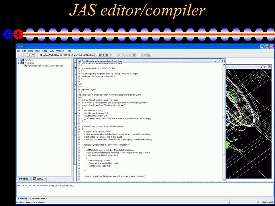 26 JAS editor/compiler