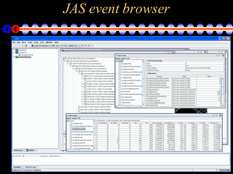 27 JAS event browser