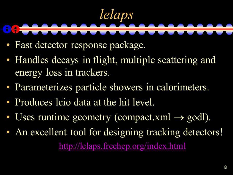 8 lelaps Fast detector response package.