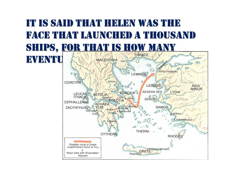 Helens father, Tyndareus Knew many men would pursue Helen Was afraid conflicts or wars would be fought over her Convinced suitors to swear an oath -to always protect Helen - to always protect Helen - to support her husband, whomever she chose whomever she chose
