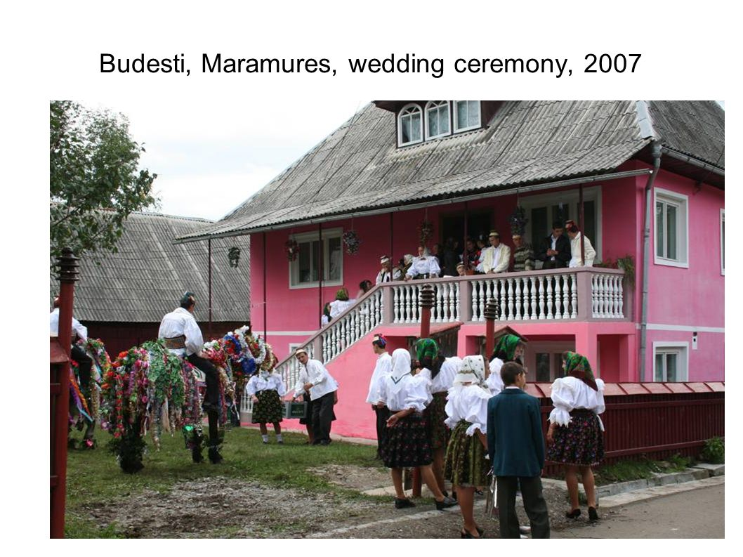 Budesti, Maramures, wedding ceremony, 2007