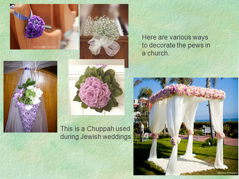 This is a Chuppah used during Jewish weddings.