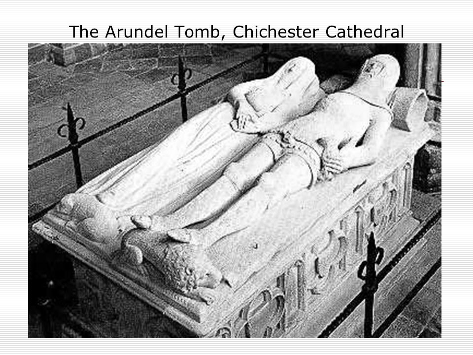 32 The Arundel Tomb, Chichester Cathedral