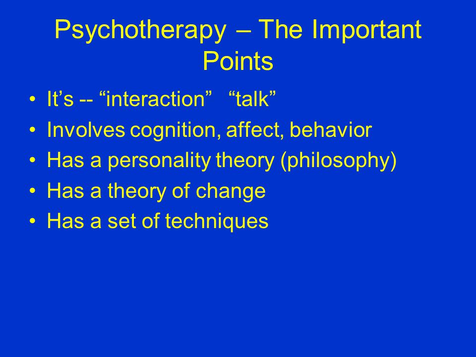 History 101-- Psychotherapy Research See your Timeline Whered that therapist go?