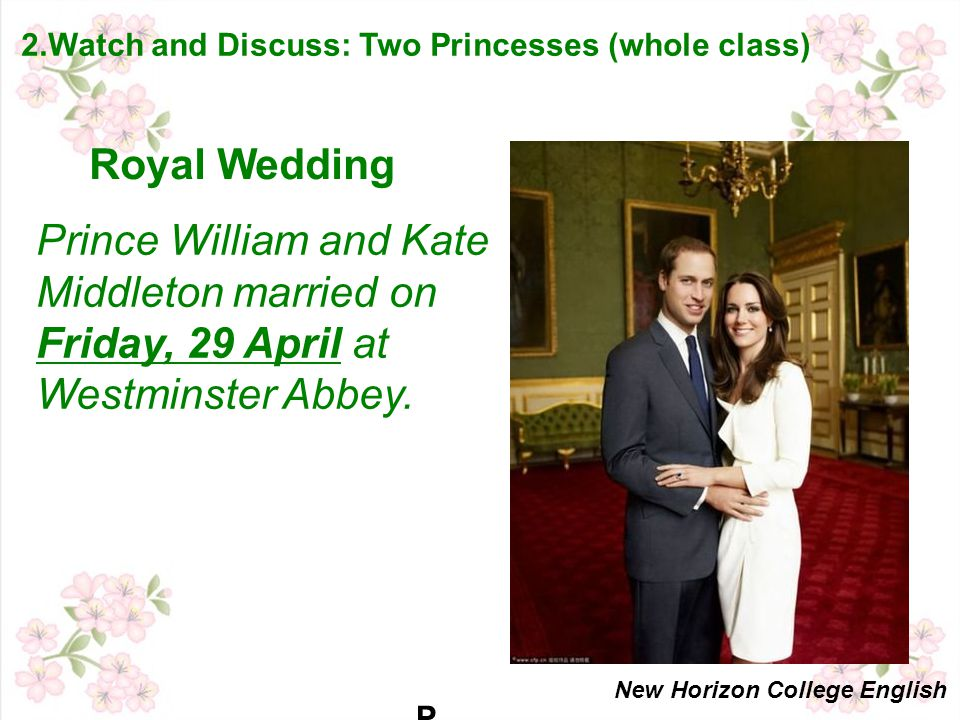 PRINCE WILLIAM AND KATE MIDDLETON WILL MARRY ON FRIDAY 29 APRIL AT WESTMINSTER ABBEYPRINCE WILLIAM AND KATE MIDDLETON WILL MARRY ON FRIDAY 29 APRIL AT WESTMINSTER ABBEY Prince William and Kate Middleton married on Friday, 29 April at Westminster Abbey.