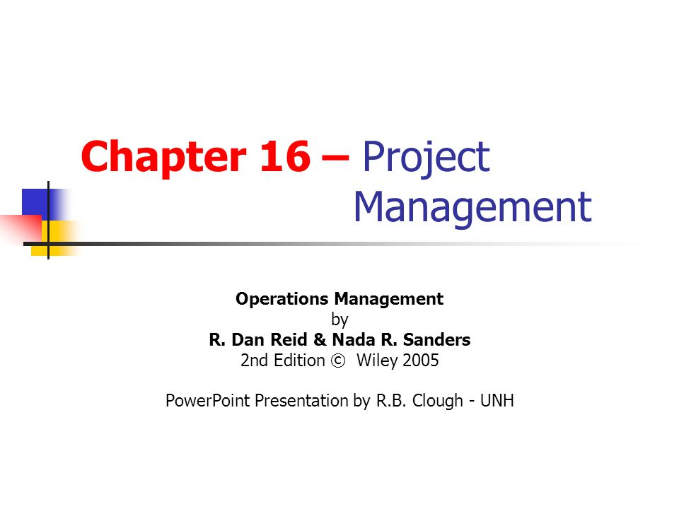 Project Management Applications What is a project.
