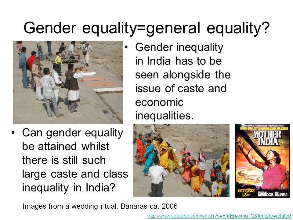 Gender equality=general equality.