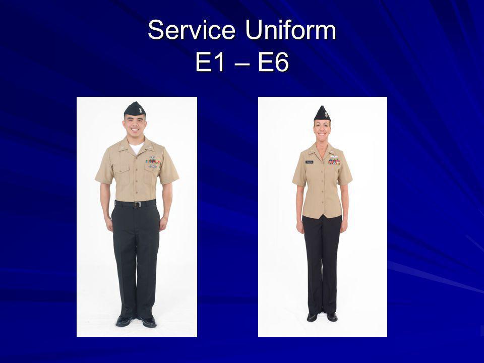 Service Uniform E1 – E6