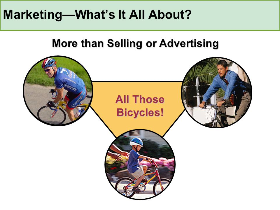 Analyze Needs Predict Wants Estimate Demand Predict When Determine Where Estimate Price Decide Promotion Estimate Competition Provide Service Things a Firm Should Do in Producing a Bike
