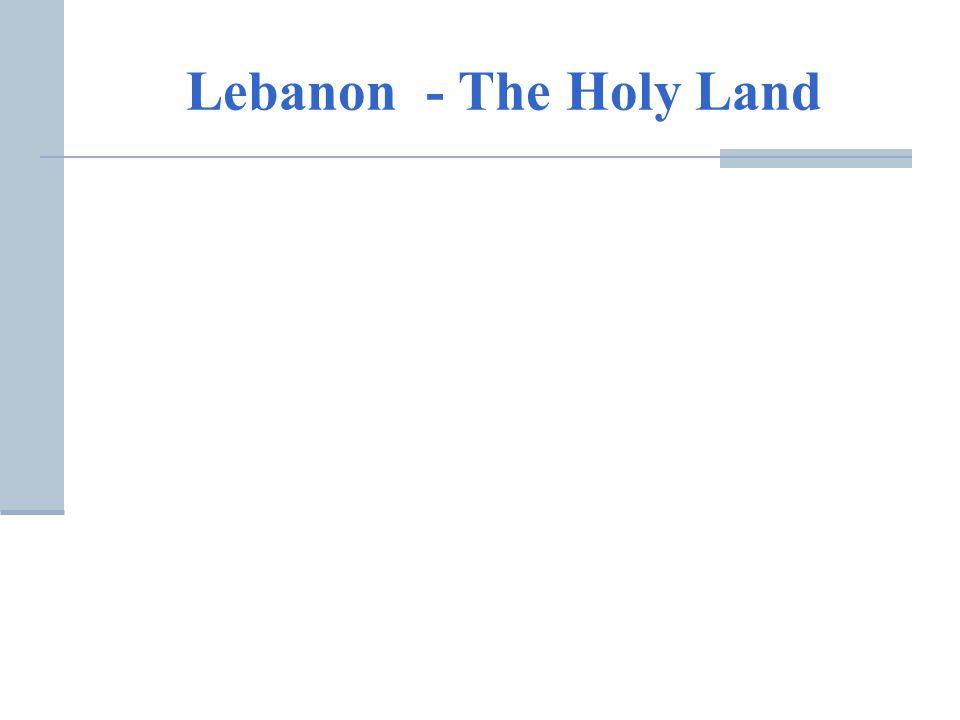 Lebanon - The Holy Land