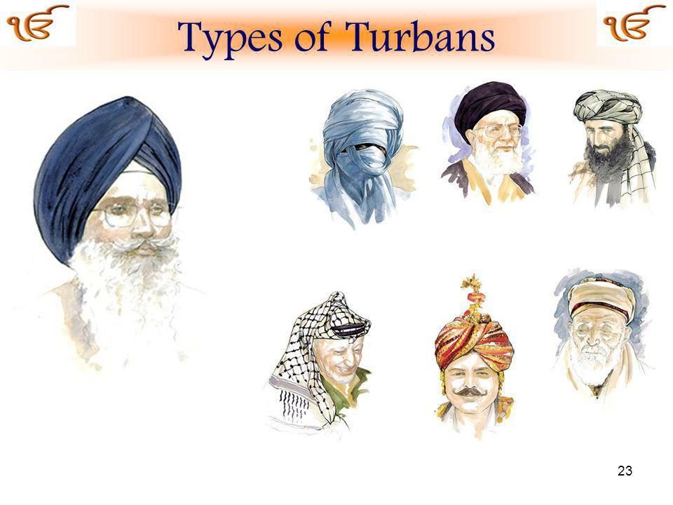 23 Types of Turbans