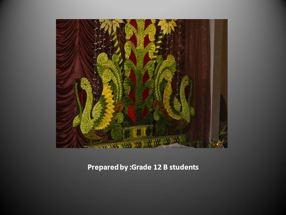 Prepared by :Grade 12 B students