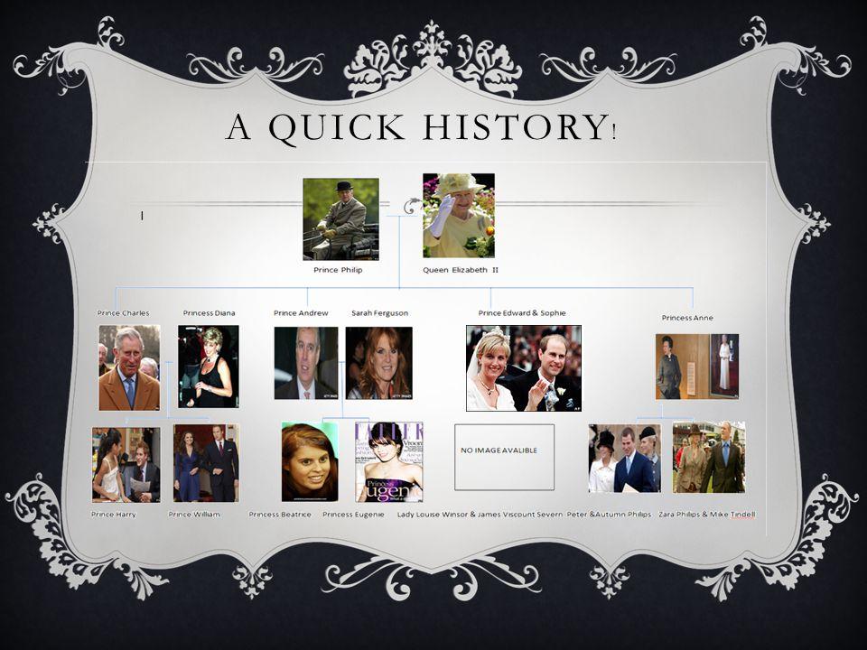 A QUICK HISTORY !