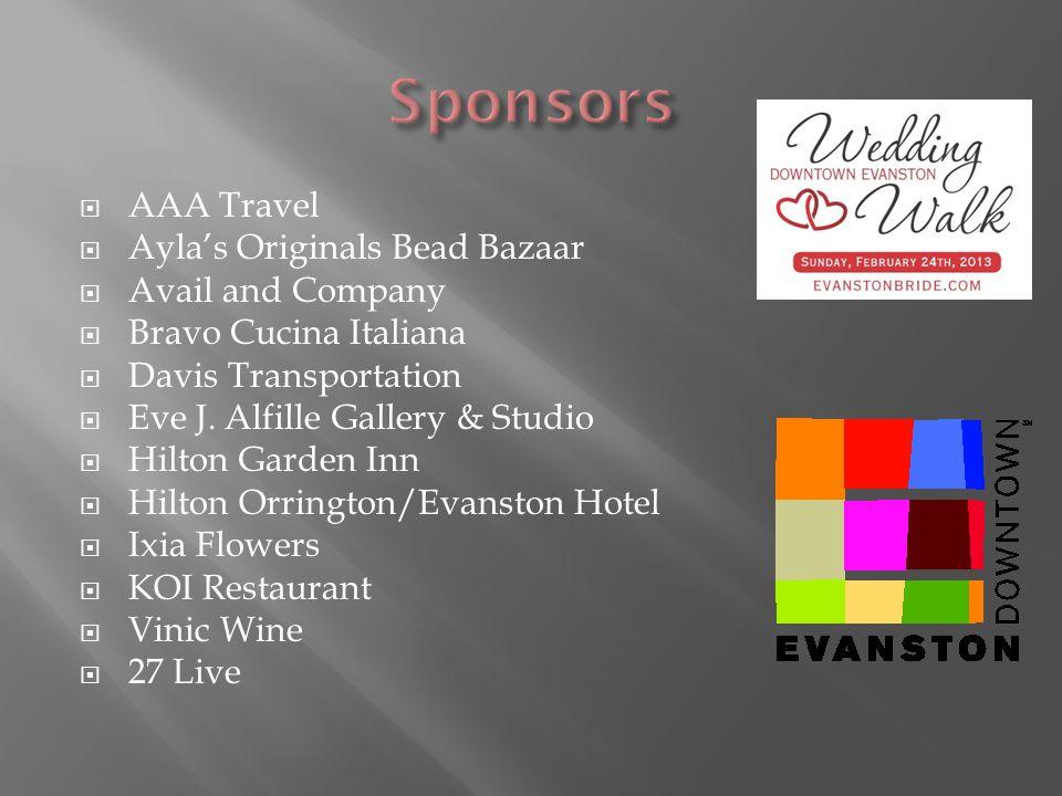 AAA Travel Aylas Originals Bead Bazaar Avail and Company Bravo Cucina Italiana Davis Transportation Eve J.