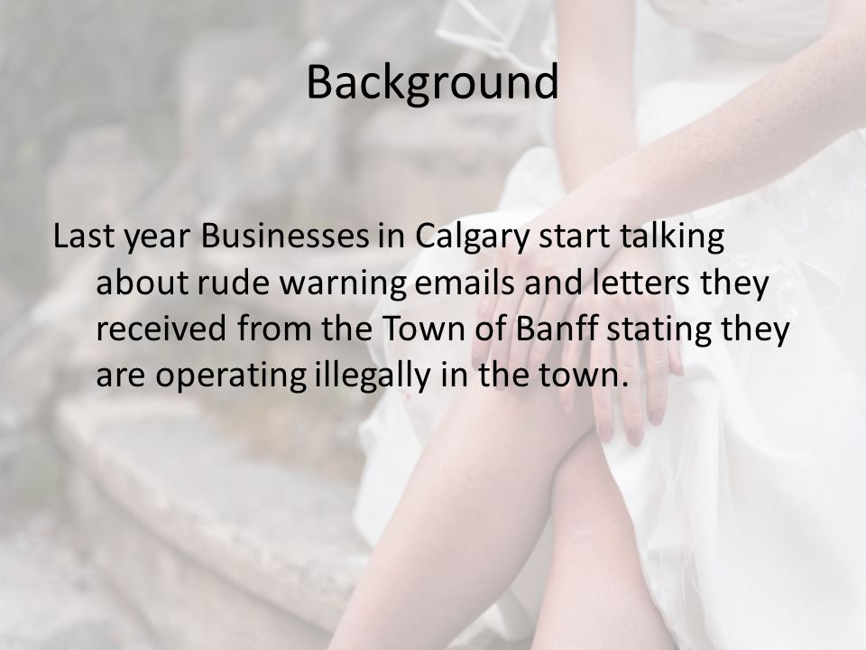 Town of Banff If a non-resident who has held a temporary license in a given calendar year decides to get an annual license they are credited the temporary license fees they already paid.