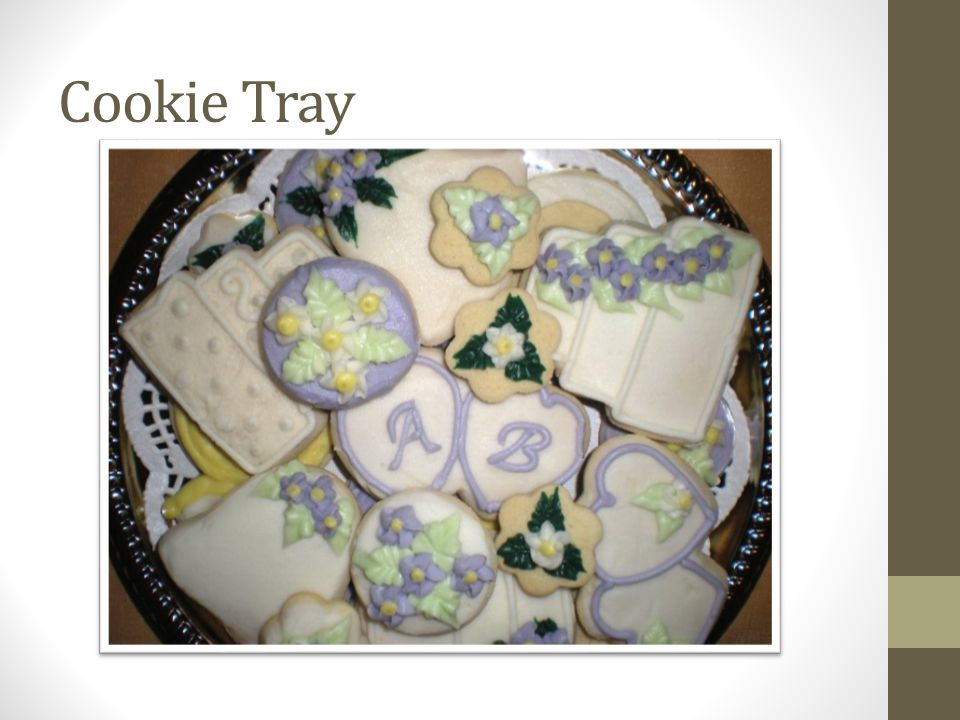 Cookie Tray