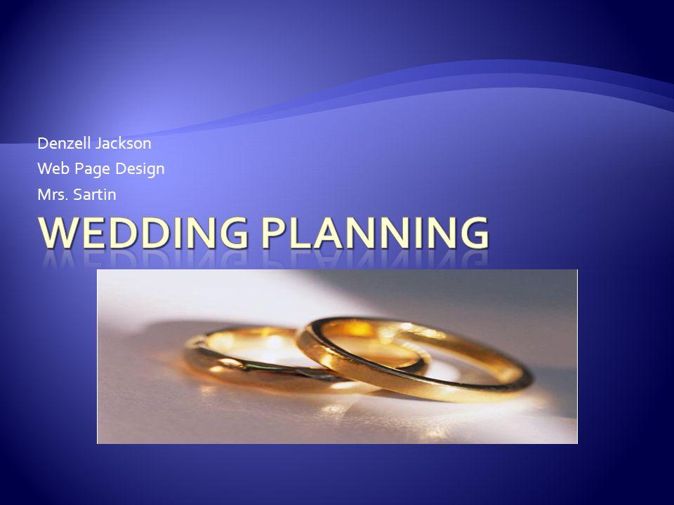 Denzell Jackson Web Page Design Mrs. Sartin