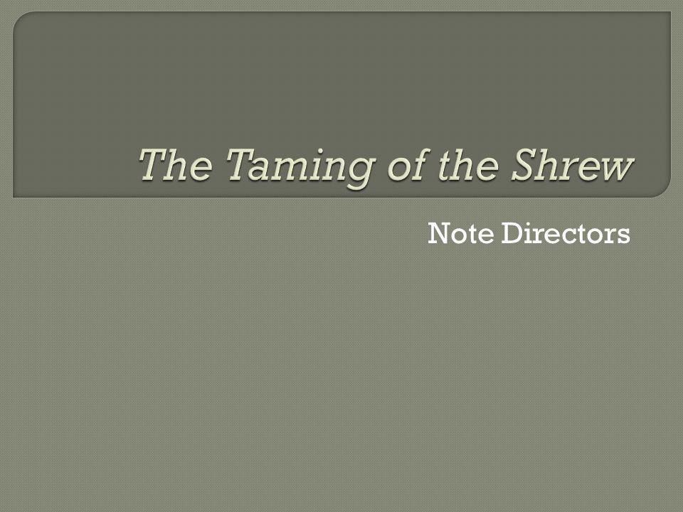 Note Directors