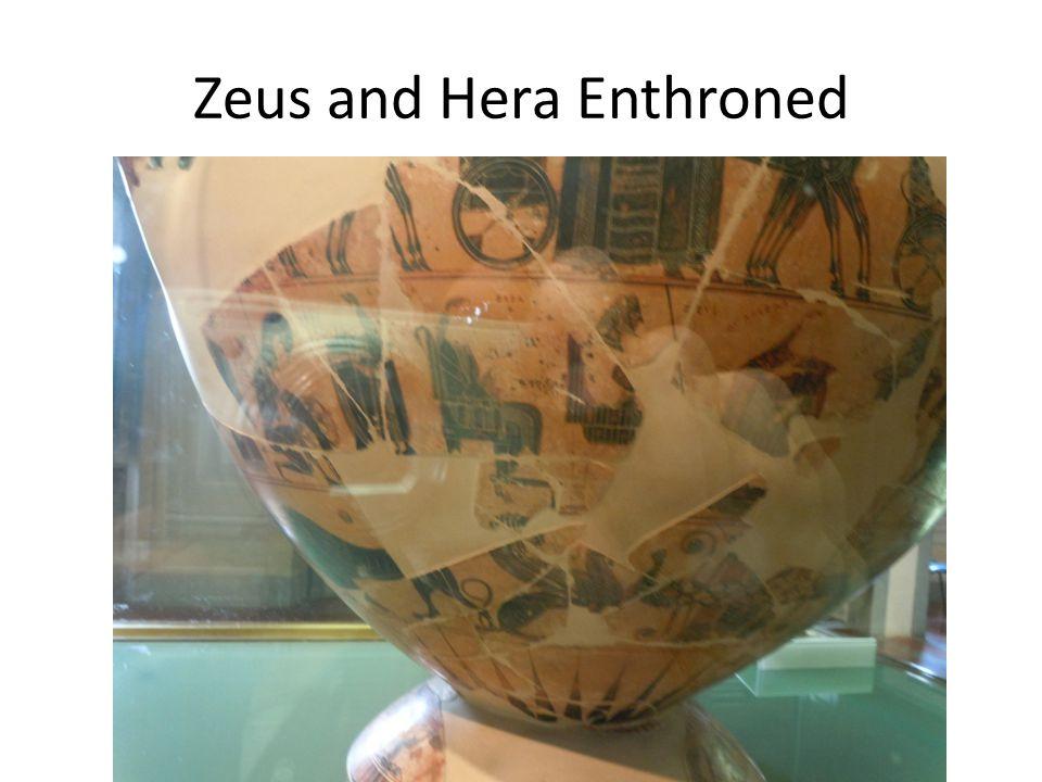 Zeus and Hera Enthroned