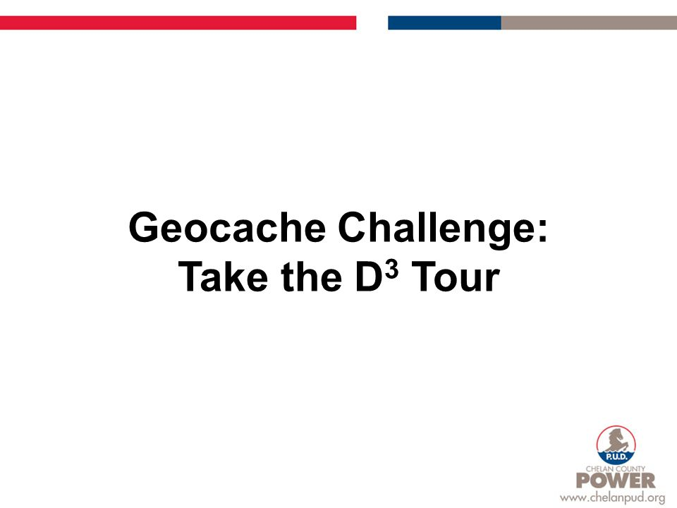 Geocache Challenge: Take the D 3 Tour