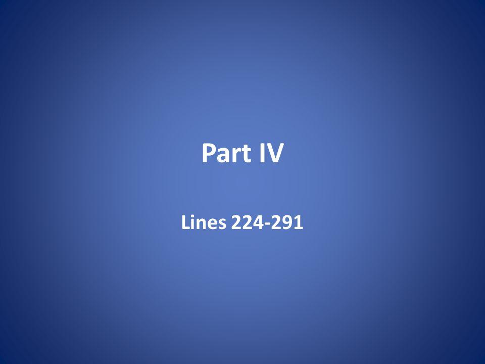 Part IV Lines 224-291