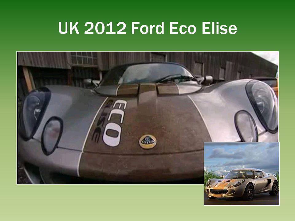 UK 2012 Ford Eco Elise