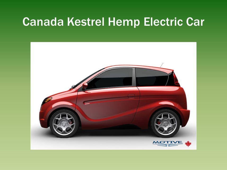 Canada Kestrel Hemp Electric Car