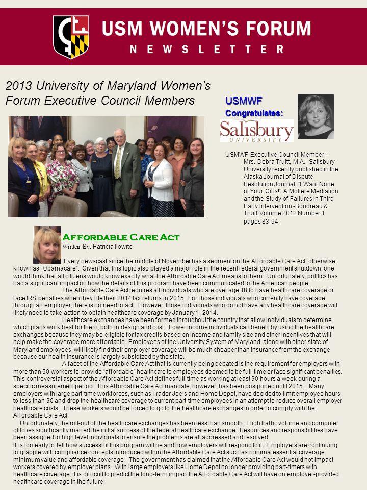 USMWFCongratulates: USMWF Executive Council Member – Mrs.