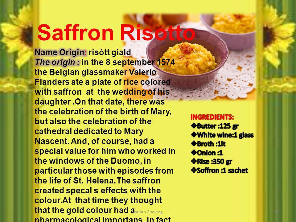 10 Saffron Risotto