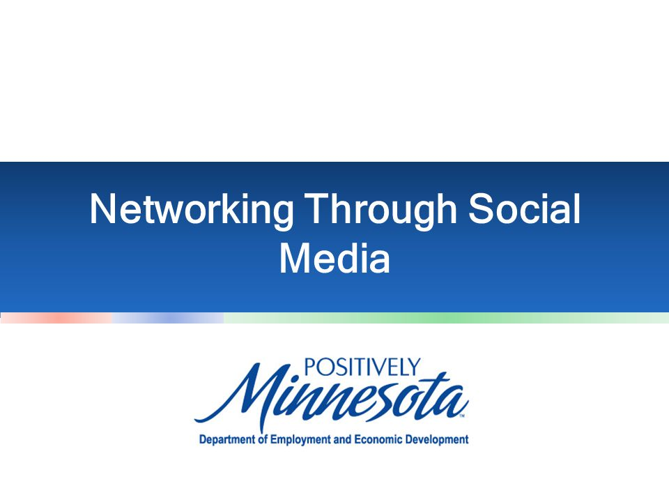 Networking Through Social Media