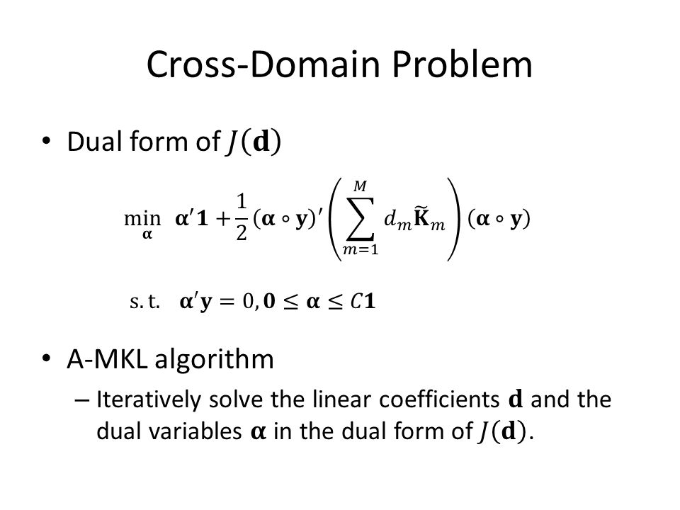 Cross-Domain Problem