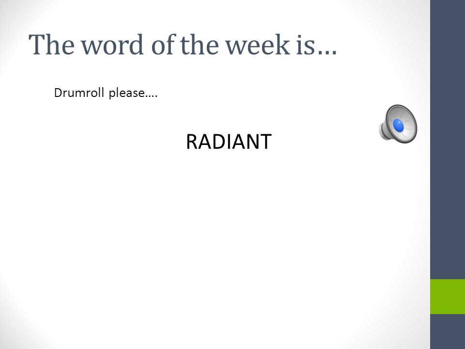 WOW! Word of the Week #33 April, 2014