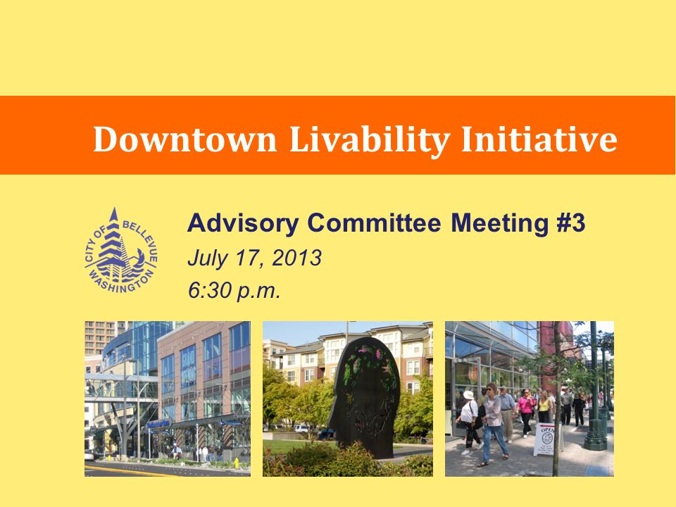 Downtown Livability Previous Committee Comments Amenity Incentive System: Summary of 6/19 Discussion Amenities should enhance livability for Downtown and surrounding neighborhoods.