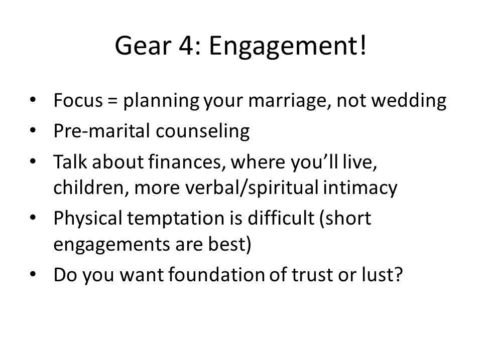 Gear 4: Engagement.