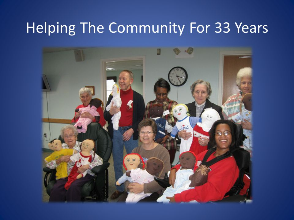 Helping The Community For 33 Years