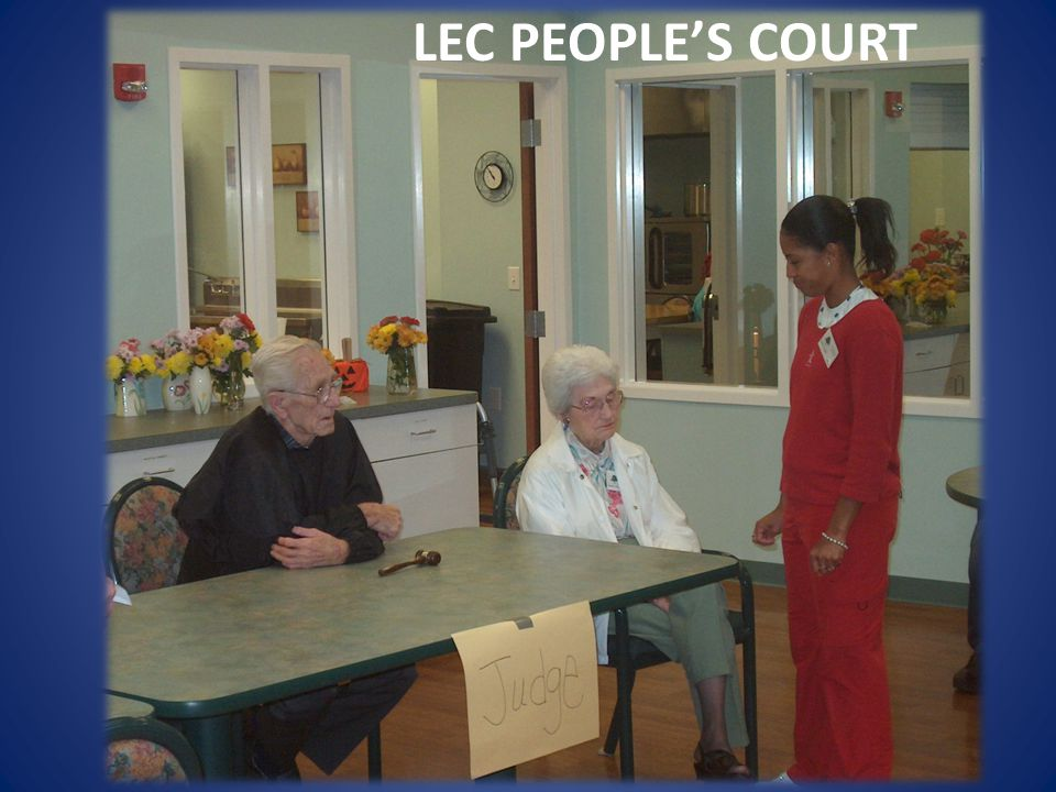 LEC PEOPLES COURT