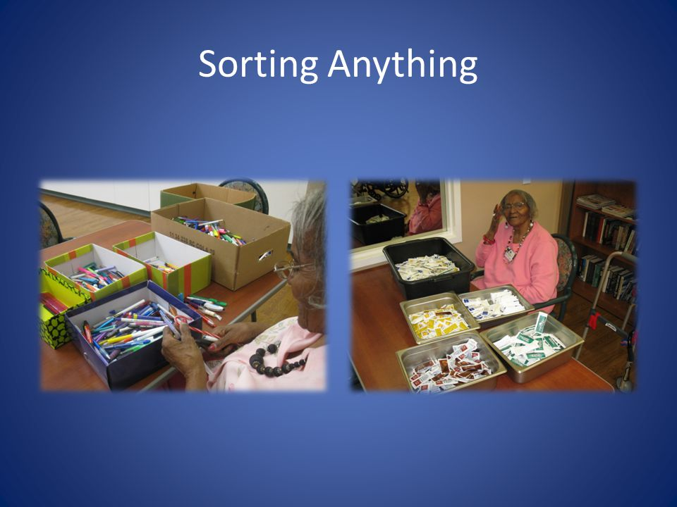 Sorting Anything