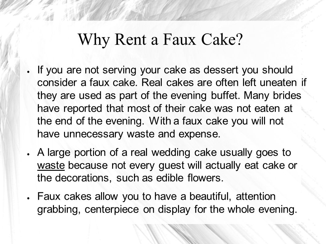 Why are real wedding cakes so expensive.Real wedding cakes are very time consuming to make.