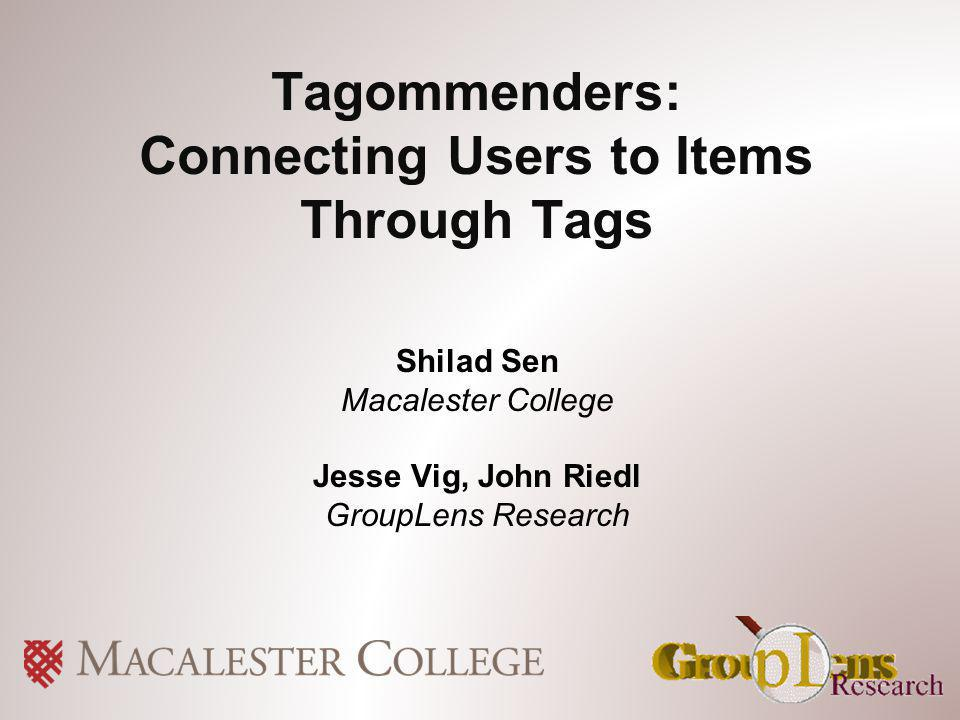 12 of 32 Outline Tag preference inference Item recommendation Auto-tagging and wrap-up