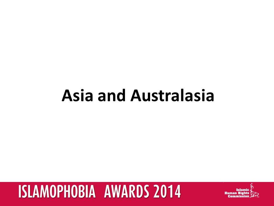 Asia and Australasia