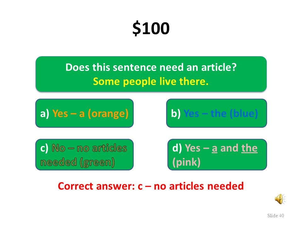 4. We need $1,000,000 to save English grammar. Who wants to be a grammar millionaire.