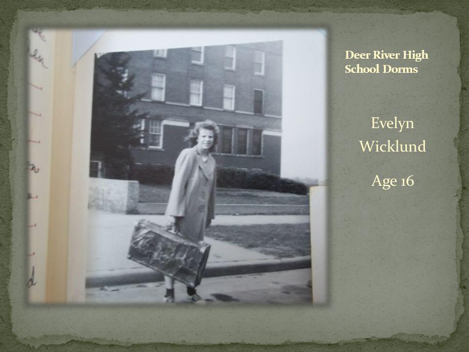 Evelyn Wicklund Age 16