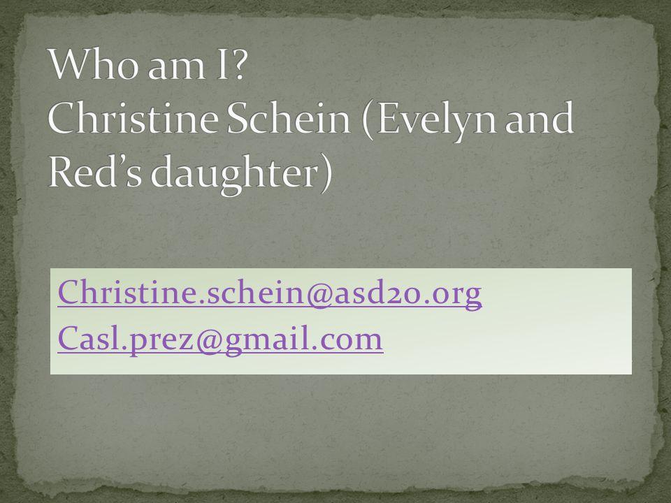 Christine.schein@asd20.org Casl.prez@gmail.com